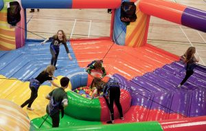 inflatable equipment hire